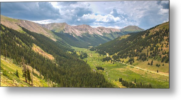 Independence In Colorado - Color Metal Print
