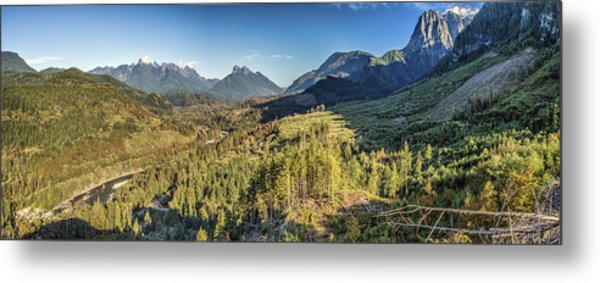 Index Mountains Panorama Metal Print