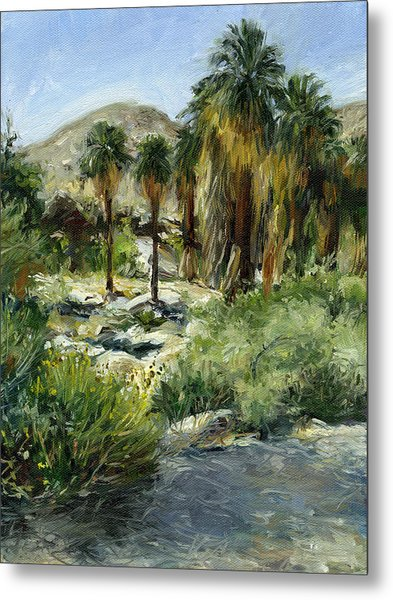 Indian Canyon Palms Metal Print by Stacy Vosberg