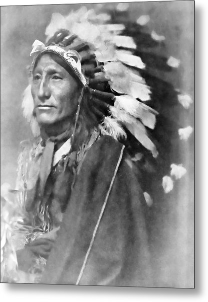 Indian Chief - 1902 Metal Print
