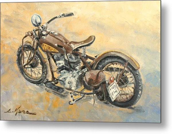 Indian Chief 1938 Metal Print
