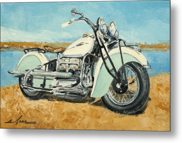 Indian Four 1941 Metal Print