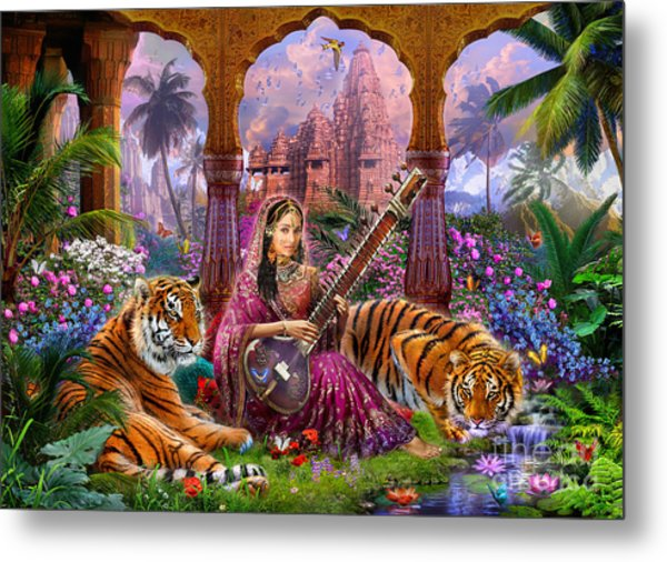 Indian Harmony Metal Print
