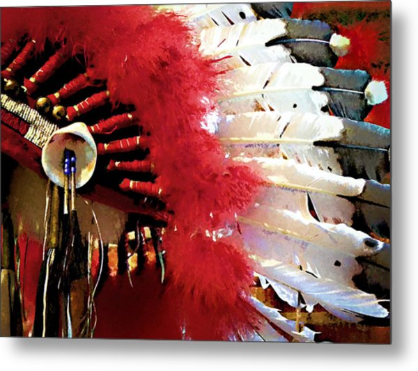 Indian Headdress Metal Print