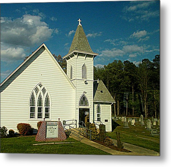 Indian Mission United Methodist Church Harbeson Delaware Metal Print
