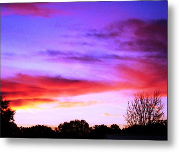 Indian Morning Sky Metal Print