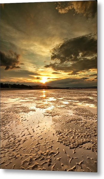Indian Sunset Metal Print