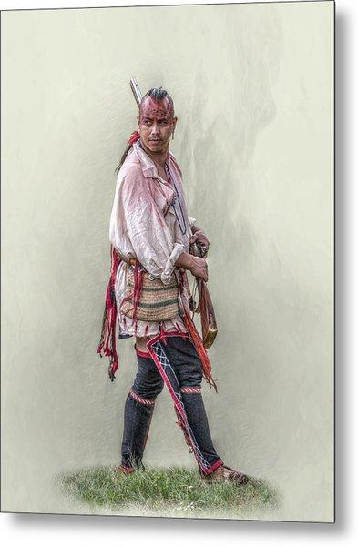 Indian Warrior Two Grand Encampment  Metal Print