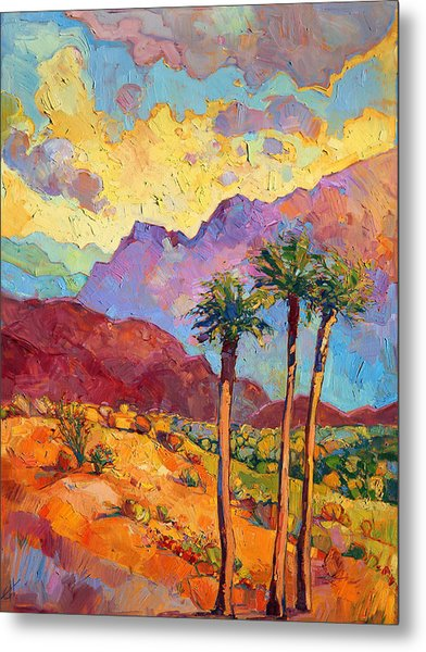 Indian Wells Metal Print by Erin Hanson