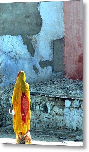 Indian Woman Metal Print by Arie Arik Chen