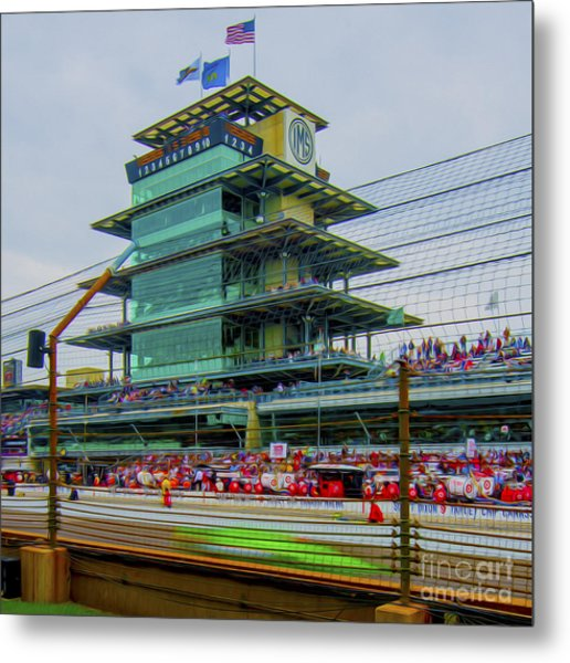 Indianapolis 500 May 2013 Square Metal Print