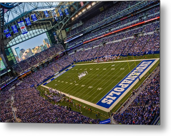 Indianapolis And The Colts Metal Print