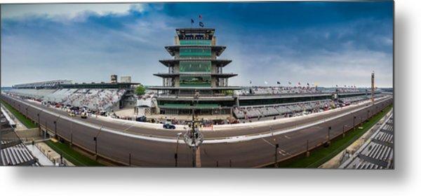 Indianapolis Motor Speedway Metal Print