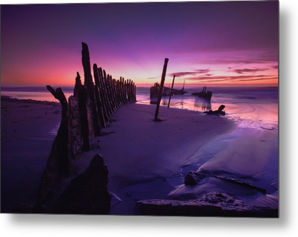 Indigo Dawn Metal Print