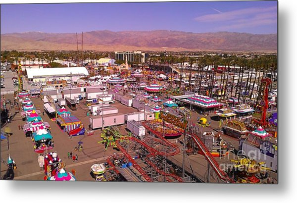 Indio Fair Grounds Metal Print
