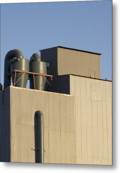 Industrial Building Metal Print