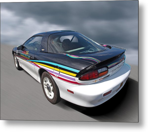 Chevrolet camaro z28 art page 2 of 9 fine art america indy 500 pace car 1993 camaro z28 metal print publicscrutiny Image collections