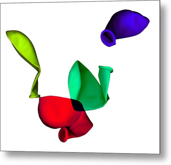 Metal Print featuring the digital art Inflated Idea 3 by Julian Cook