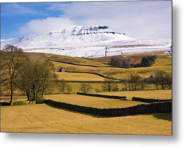 Ingleborough Metal Print