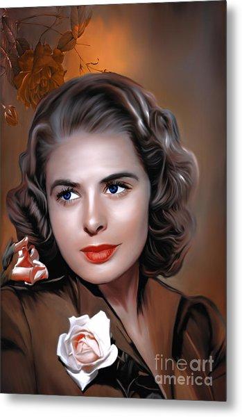 Ingrid Bergman  Metal Print