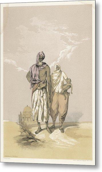 Inhabitants Of Mooltan (aka  Multan) - Metal Print by Mary Evans Picture Library