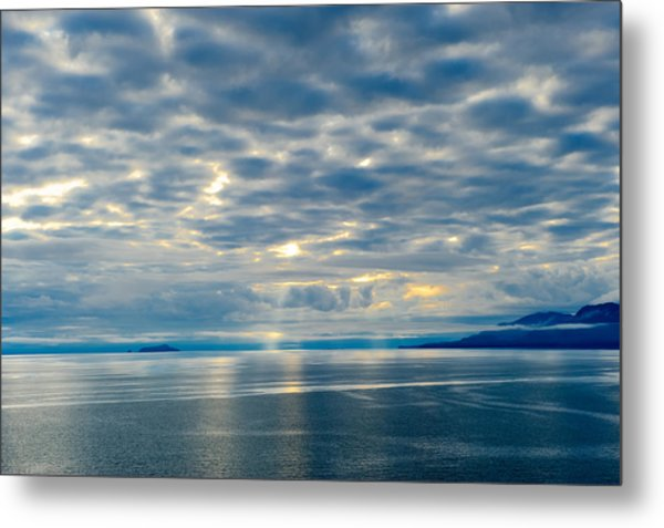 Inland Passage In Alaska Metal Print