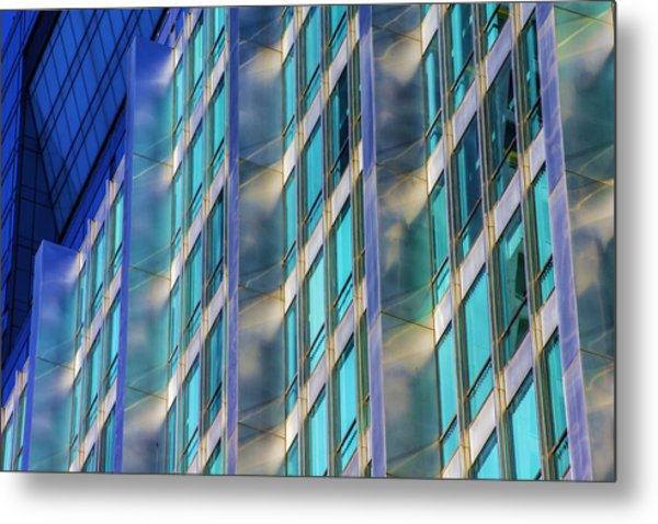 Inland Steel Building Metal Print