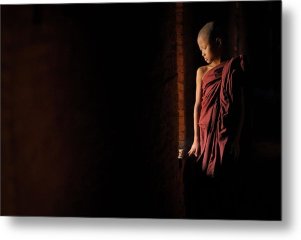 Inner Peace Metal Print by Vichaya
