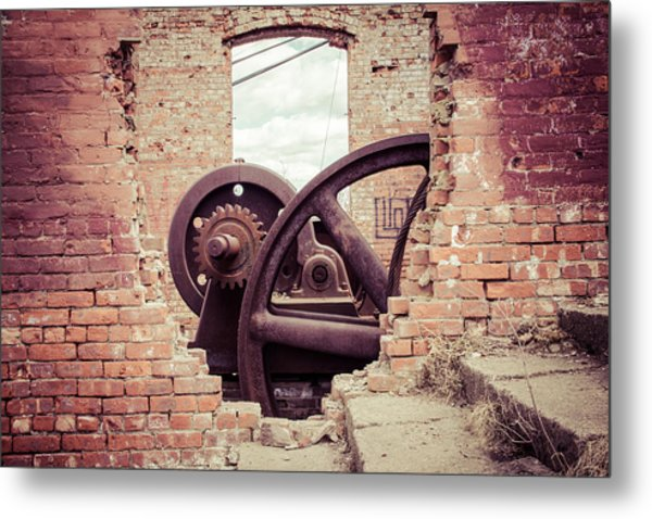 Inner Workings Metal Print