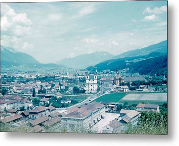 Innsbruck Austria 4 1962 Metal Print by Cumberland Warden