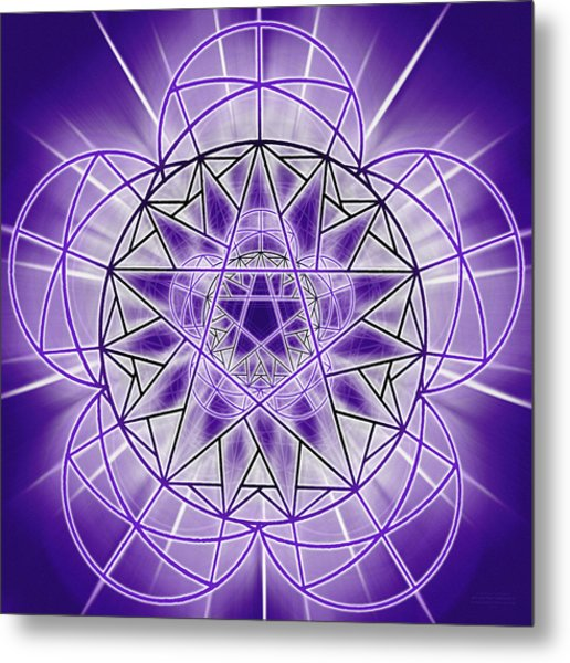 In'phi'nity Star-map Metal Print