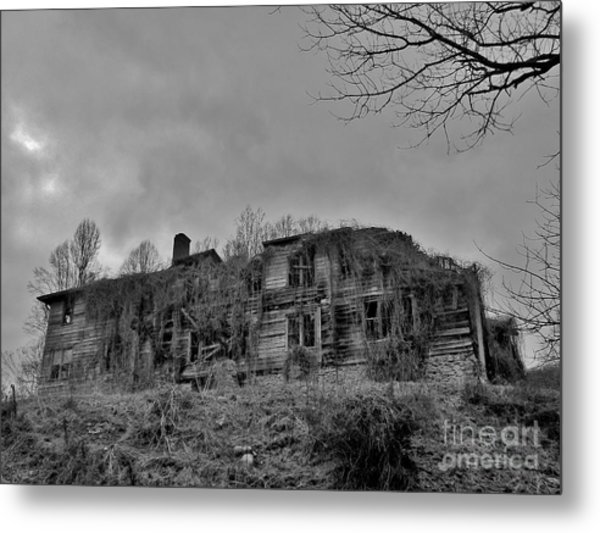 Insanity On The Hill Metal Print