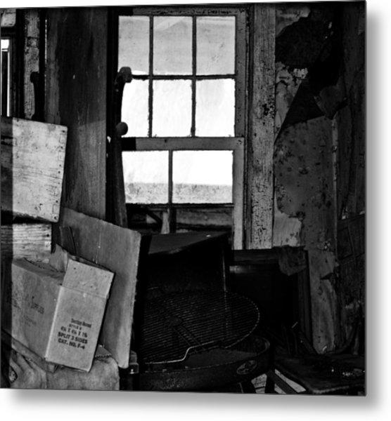 Inside Abandonment 2 Metal Print