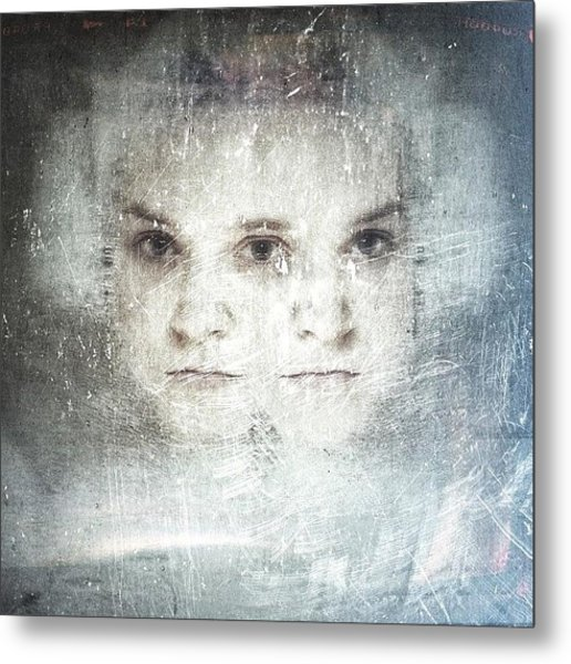 Inside Our Minds...#selfportrait Metal Print