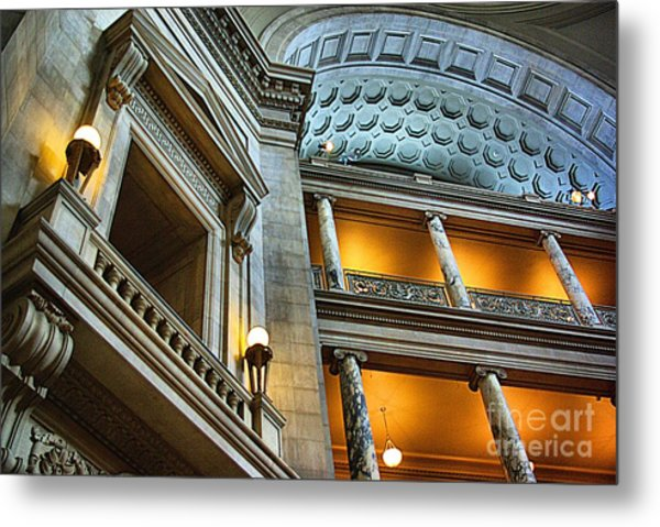 Inside The Natural History Museum  Metal Print
