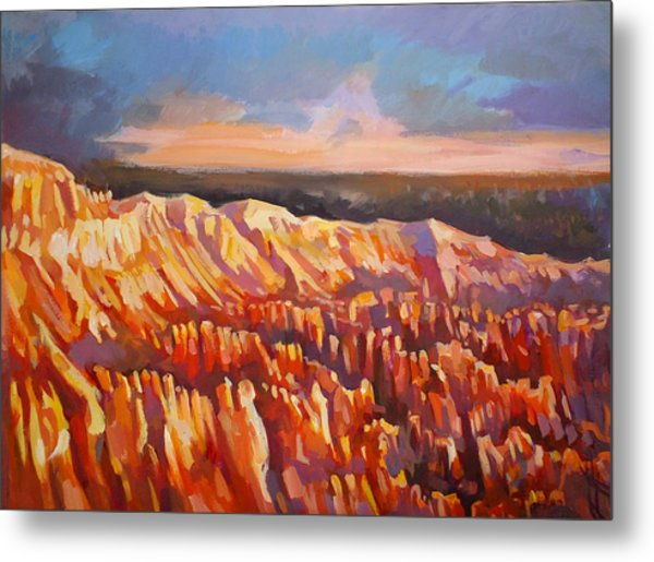 Inspiration Point - Bryce Canyon Metal Print by Filip Mihail