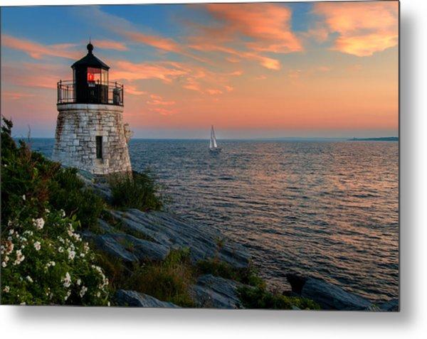 Inspirational Seascape - Newport Rhode Island Metal Print