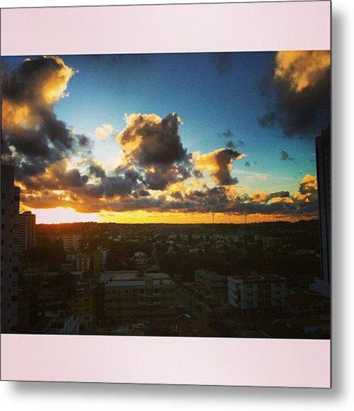 #instasize #sun #summer #city #view Metal Print