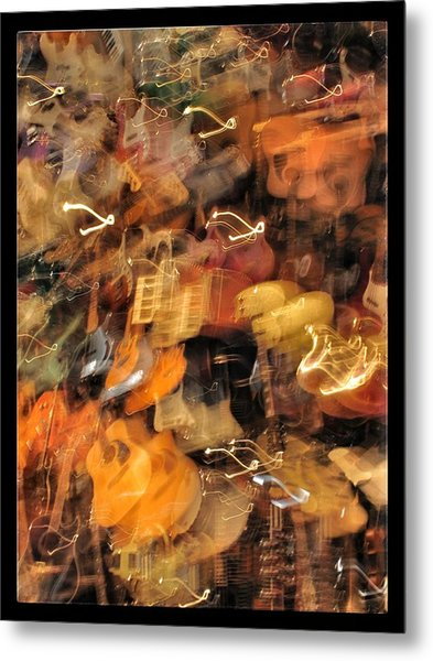 Instrument Abstract  Metal Print by Edward Hamm