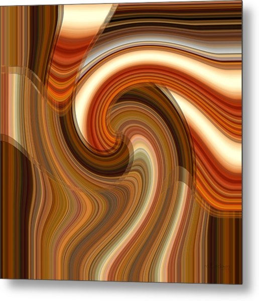 Metal Print featuring the digital art Integral Clarity by rd Erickson