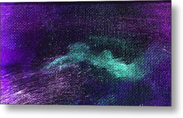 Intensity Purple Hue  Metal Print by L J Smith