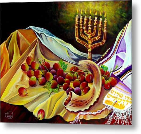 Intercession Metal Print