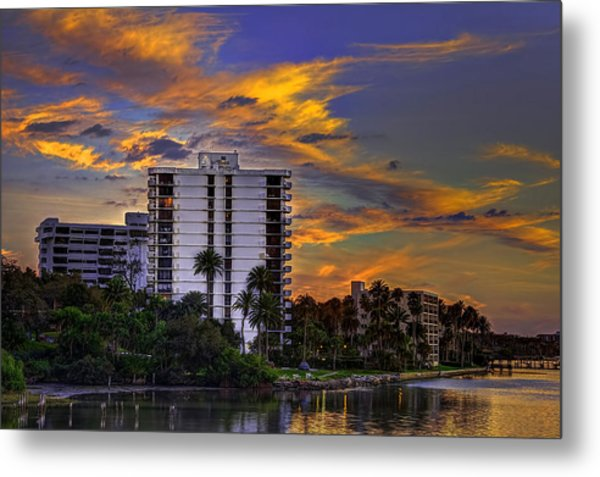 Intercoastal Sky Metal Print