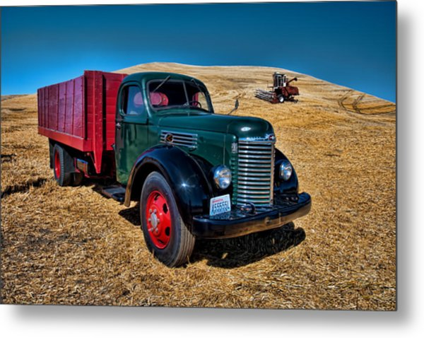 International Farm Truck Metal Print