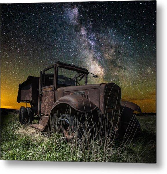 International Milky Way Metal Print