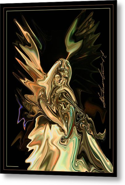 In The Arms  Free To All Metal Print