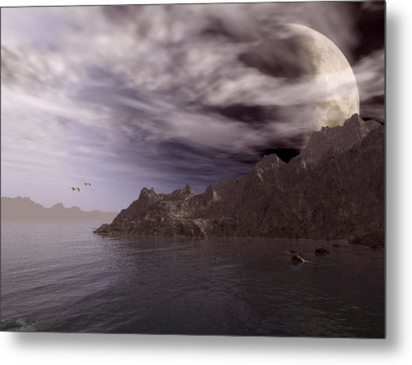 Into Other Worlds Metal Print
