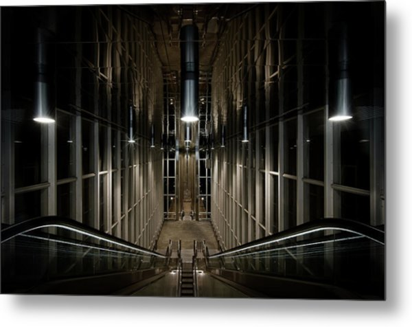 Into The Abyss Metal Print