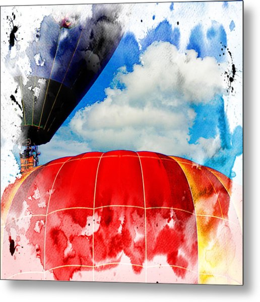 Into The Clouds Metal Print by Ken Evans