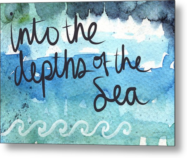 Into The Depths Of The Sea Metal Print